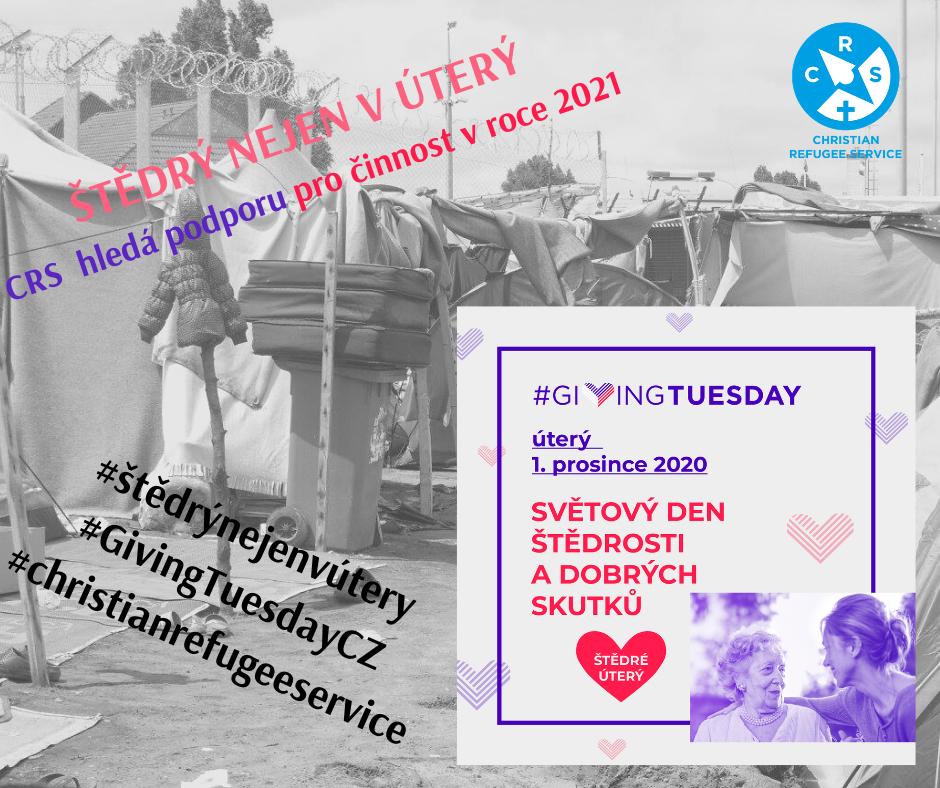 #štědrýnejenvúterý – Giving Tuesday!